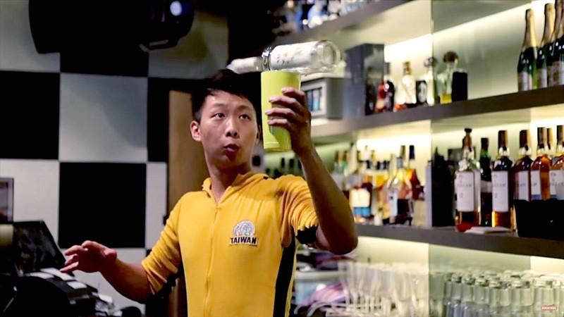 Bruce Lee, bartender de coctelería