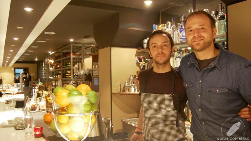 El equipo de Gastro Coctelería Tres Bocas (Madrid)