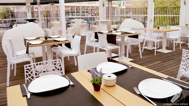 Terraza de Gastro Coctelería 90 Grados (Madrid)
