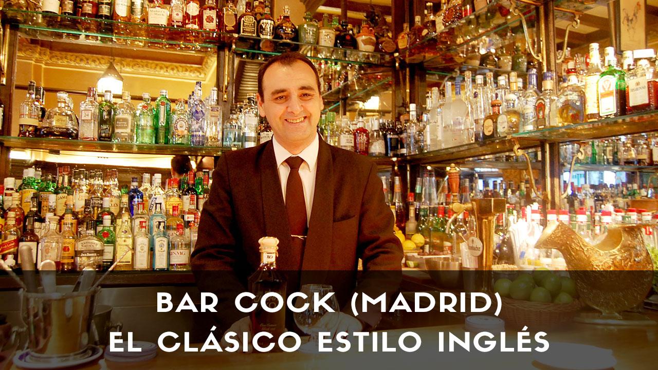 El bartender Javier Rufo, responsable de coctelería Bar Cock (Madrid)