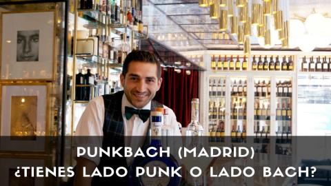 El bartender Adrian Sehob, respondable de coctelería de PunkBach (Madrid), con tres cócteles