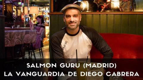 Coctelería Salmon Guru (Madrid): La vanguardia del bartender Diego Cabrera