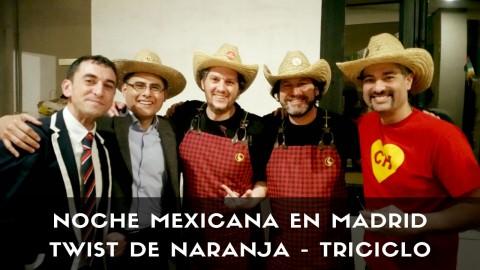El equipo de Twist de Naranja en la gran Noche Mexicana en Madrid