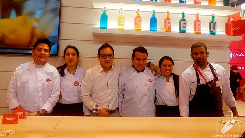 Gastronomía y pisco peruano presentes en Fitur 2017