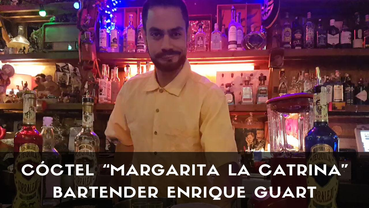Cóctel Margarita La Catrina, del bartender Enrique Guart, de La Catrina (Madrid)