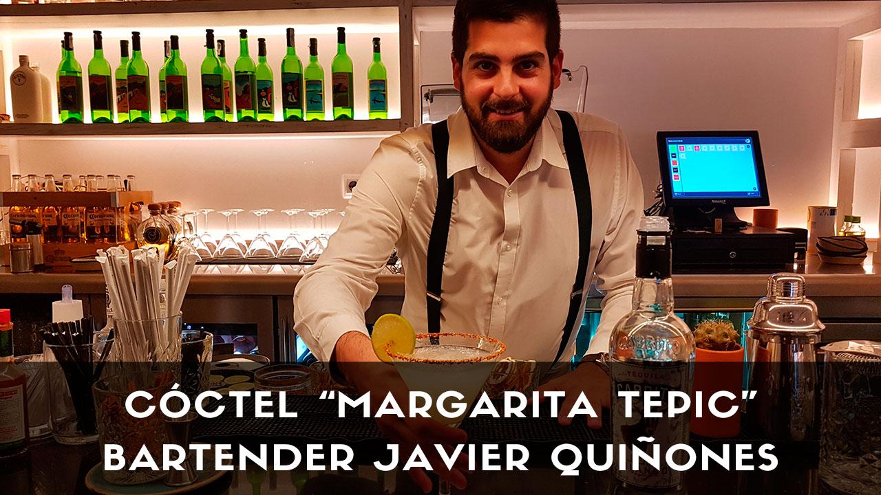 Cóctel Margarita Tepic, del bartender Javier Quiñones, de Tepic (Madrid)