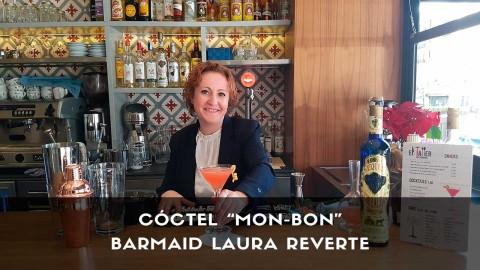 Cóctel con tequila de la barmaid Laura Reverte en la coctelería de El Taller (Madrid)