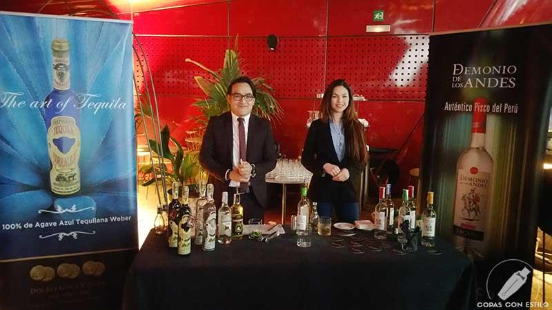 Pisco Demonio de los Andes y Tequila Corralejo siempre presentes en el campeonato de coctelería