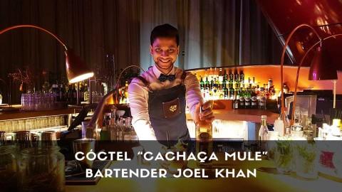 Cóctel con cachaça del bartender Joel Khan en la coctelería de NuBel (Madrid)