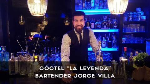 Cóctel con tequila del bartender Jorge Villa en la coctelería Klimt (Madrid)