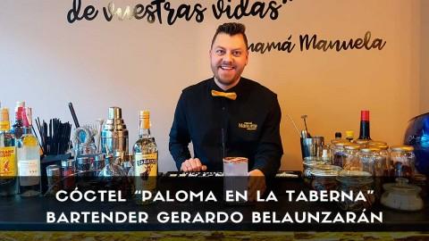 Cóctel con tequila del bartender Gerardo Belaunzarán en la coctelería de Mamá Manuela (Villaviciosa de Odón, Madrid)