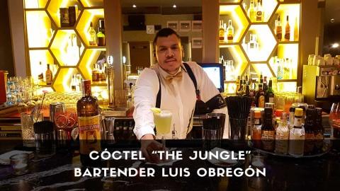 Cóctel con cachaça del bartender Luis Obregón en la coctelería de Japanese Club (Madrid)
