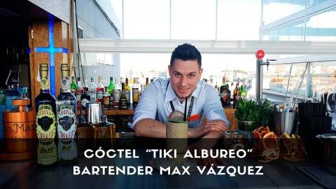 Cóctel con tequila del bartender Max Vázquez en la coctelería de Terraza Room Mate Óscar (Madrid)
