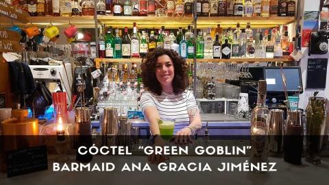 Cóctel con tequila de la barmaid Ana Gracia Jiménez en la coctelería The Traveller (Madrid)