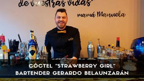 Cóctel con tequila del bartender Gerardo Belaunzarán en la coctelería de Mamá Manuela (Villaviciosa de Odón)
