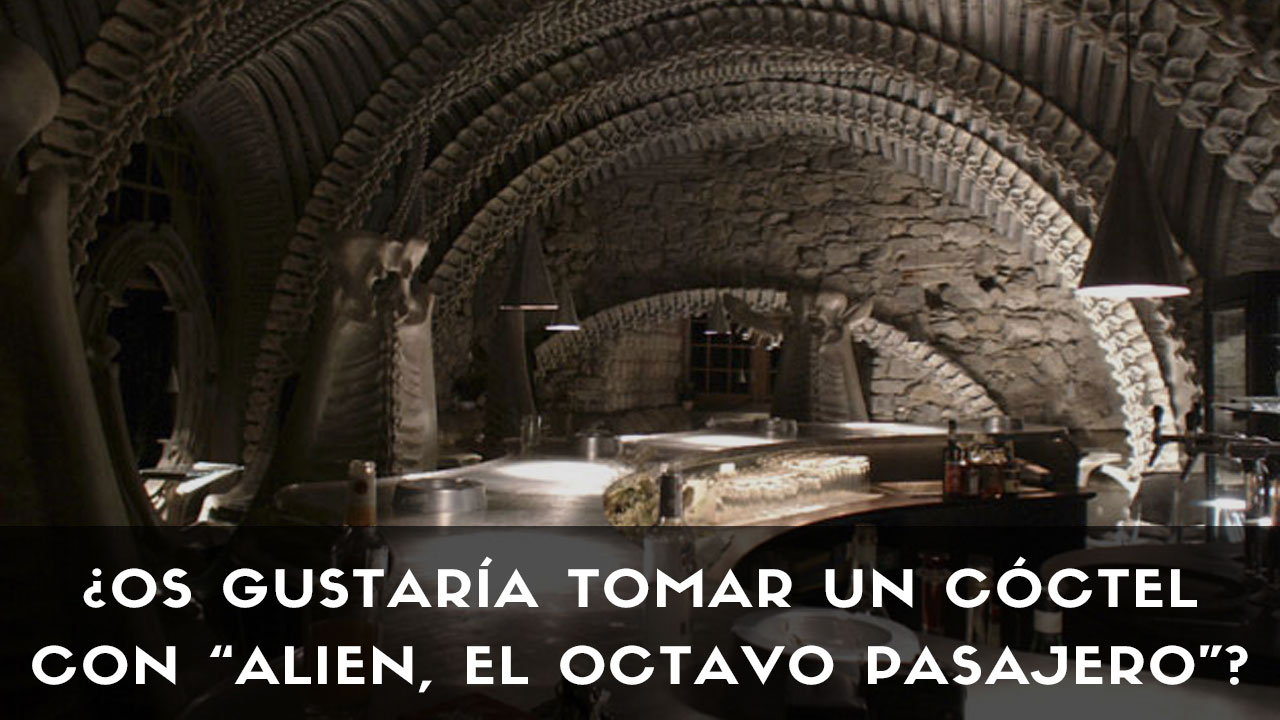 """El Museum Bar H.R. Giger, bar creado por quien desarrolló los escenarios de la película """"Alien, el octavo pasajero"""""""
