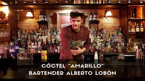 Cóctel con cachaça del bartender Alberto Lobón en la coctelería Baton Rouge (Madrid)