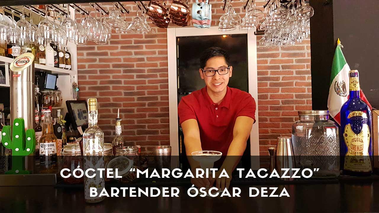 Cóctel Margarita del bartender Óscar Deza en la coctelería de Tacazzo (Madrid)