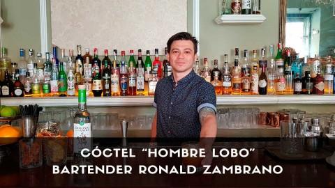 Cóctel con pisco del bartender Ronald Zambrano en la coctelería 1862 Dry Bar (Madrid)