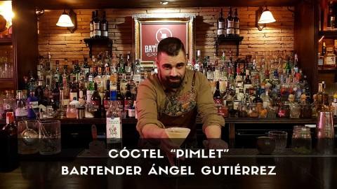 Cóctel con pisco del bartender Ángel Gutiérrez, de la coctelería Baton Rouge (Madrid)