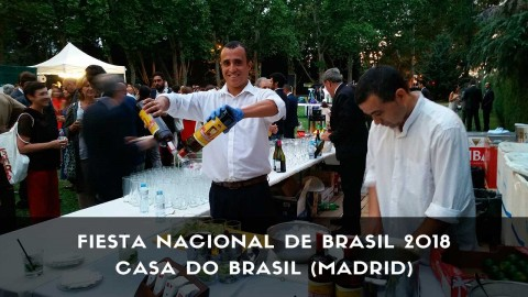 Fiesta Nacional de Brasil 2018, en Casa do Brasil (Madrid)
