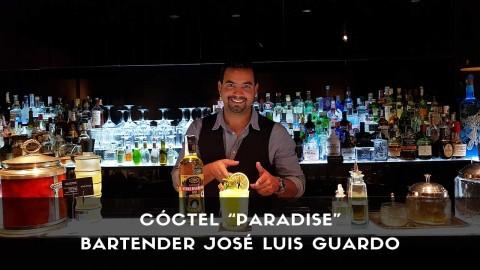 Cóctel con cachaça del bartender José Luis Guardo en la coctelería Kialma (Madrid)