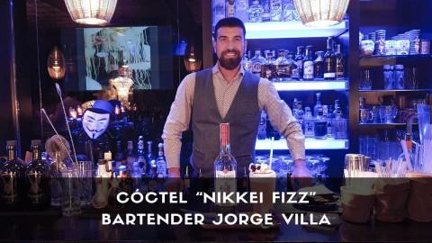 Cóctel con pisco del bartender Jorge Villa en la coctelería Klimt (Madrid)
