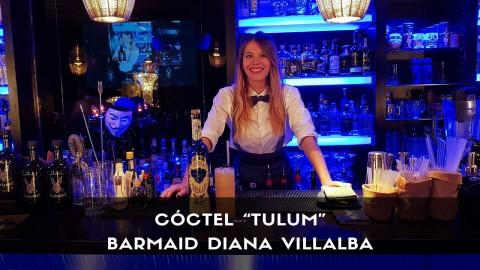 Cóctel con tequila de la barmaid Diana Villalba en la coctelería Klimt (Madrid)