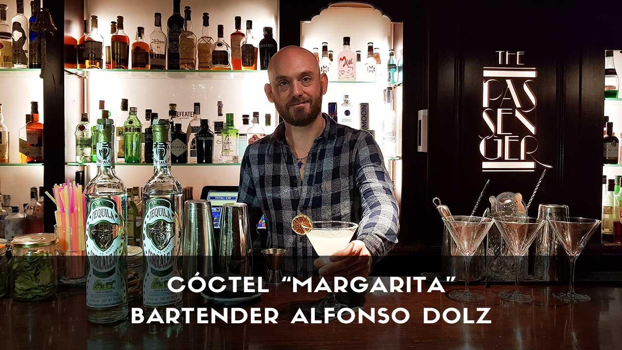 Cóctel Margarita del bartender Alfonso Dolz en la coctelería The Passenger (Madrid)