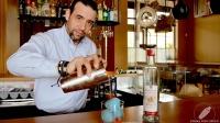 Juan Jesús Calderón, bartender de Barbillón Oyster (Aravaca, Madrid), nos elaboró un riquísimo Pisco Sour con fresa