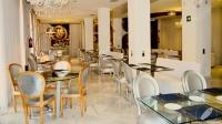 El elegante restaurante del Hotel Dormir D Cine (Madrid)
