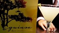 El sommelier Lai Rueda nos preparó un delicioso cóctel Pisco Sour en Eguinoa (Madrid)