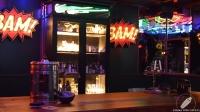Y … Bam! Bam!, llegamos a la mesa del barman, el espacio didáctico y de experimentación
