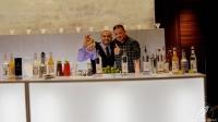 """Grandes amigos los bartender Javier Payano y Sergio Freile, en el evento """"Pisco es Perú"""""""